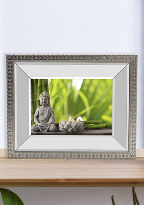 9 in x 11 in Mirror Frame with Border Detail