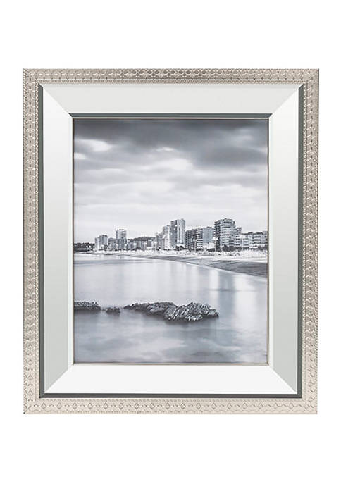 12 in x 14 in Mirror Frame with Border Detail