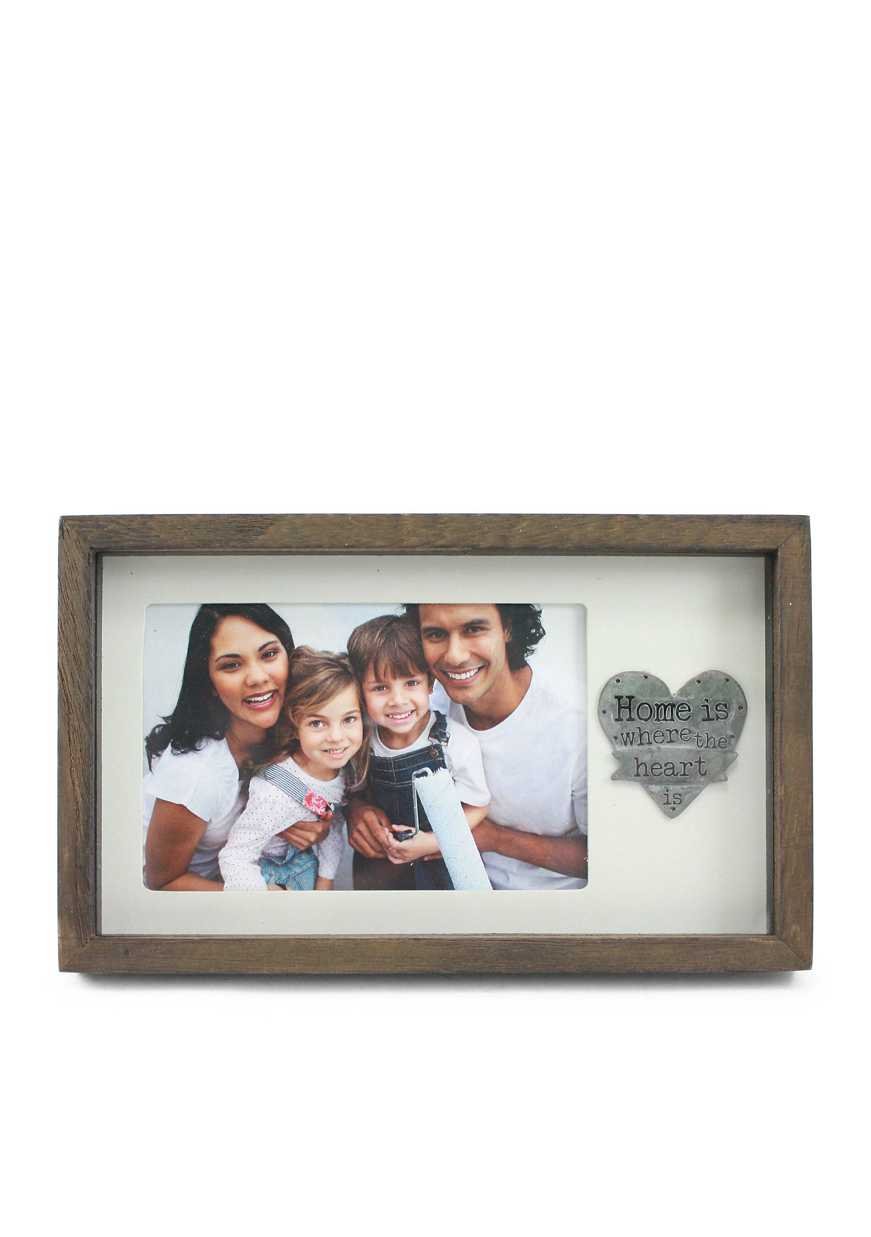 Fetco home dcor 4 x 6 stampy home is where the heart is frame images jeuxipadfo Gallery