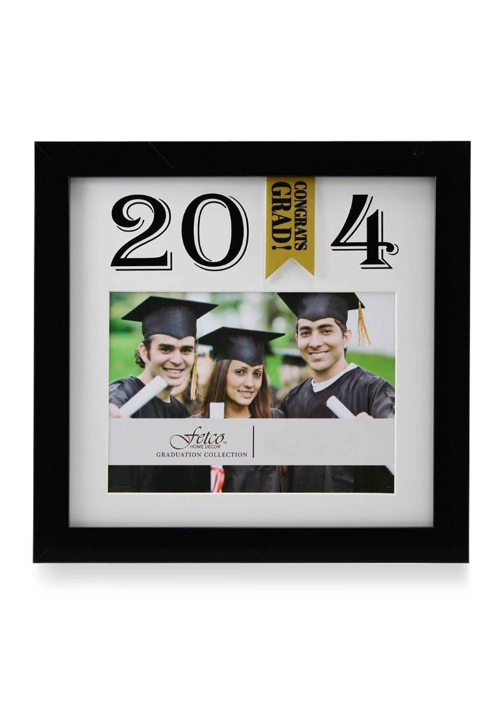 Fetco home dcor daymour congrats grad 2014 5x7 photo frame belk images jeuxipadfo Gallery