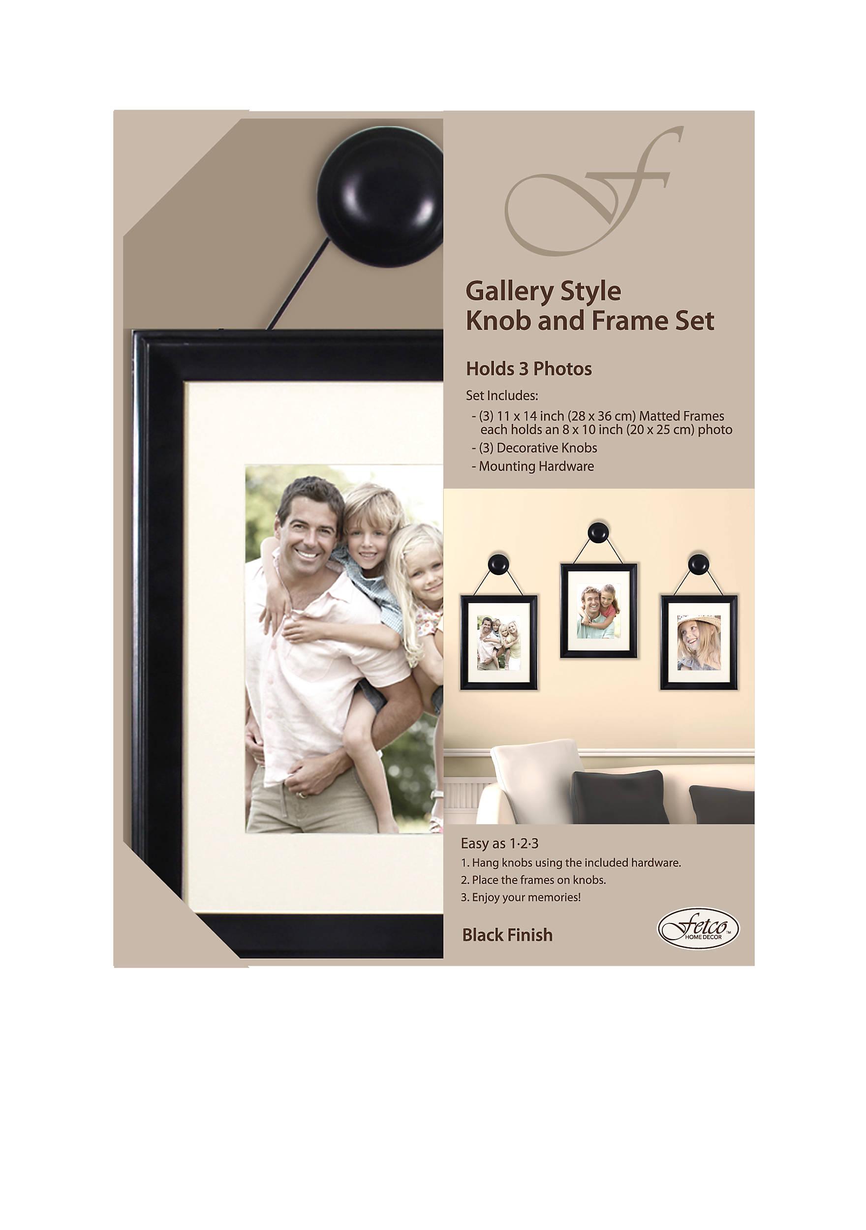 Fetco home dcor felda gallery style knob and frame set belk images jeuxipadfo Gallery