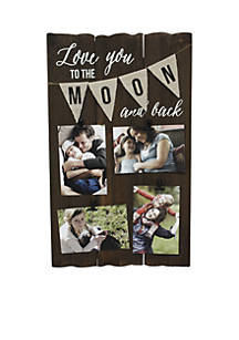 Fetco Home Décor Lerkinwall Collage Love You To The Moon Belk