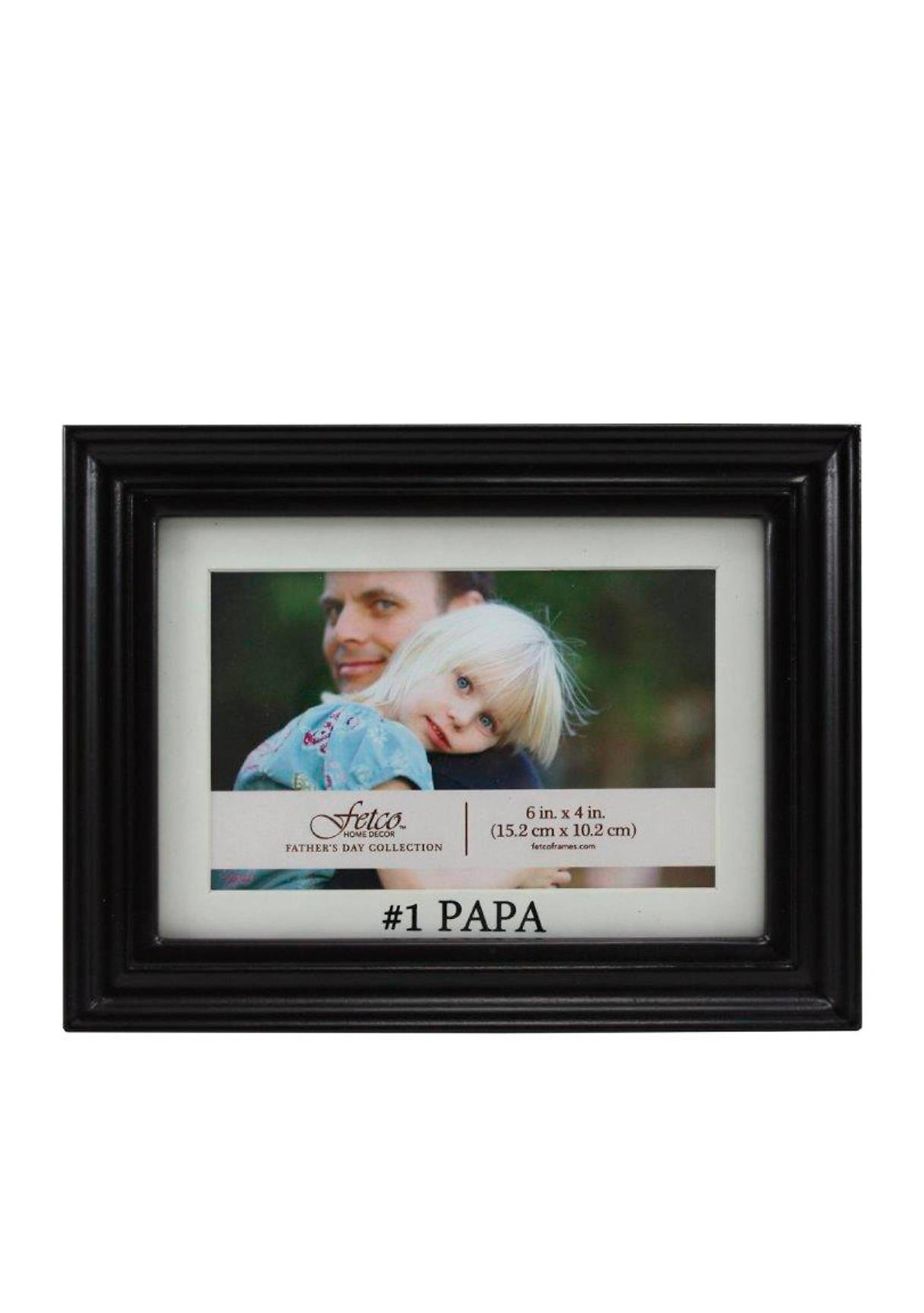 Fetco home dcor 1 papa 4x6 picture frame belk images jeuxipadfo Gallery