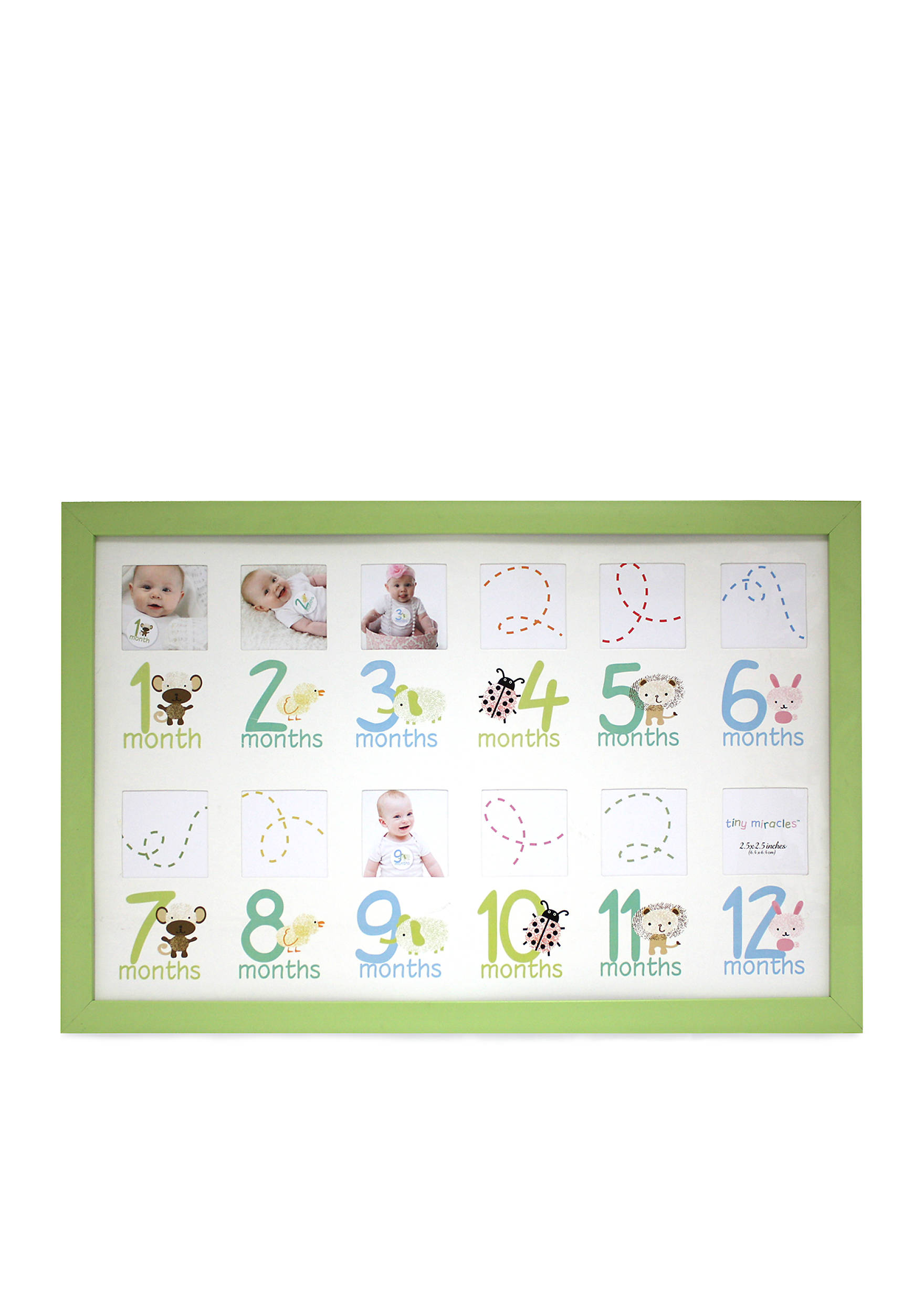 Fetco home dcor darling 12 month collage frame belk images jeuxipadfo Gallery