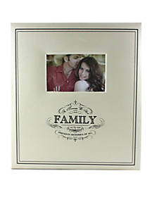 Fetco Home Décor Family 5 Up 4x6 Photo Album Belk