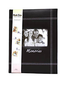 Fetco Home Décor Memories Varied Size Openings 95x13 Photo Album Belk