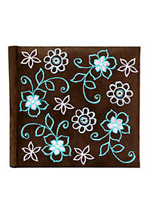 Fetco Home Décor Fallbrook Suede Floral Album Belk