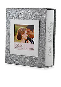 Fetco Home Décor Josette Our Wedding 1 Up 4x6 Box Photo Album Belk