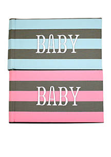 Fetco Home Décor Tiny Miracles Baby 1 Up Set Of 2 4x6 Photo Albums