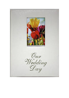 Fetco Home Decor Our Wedding Day 4x6 Photo Album