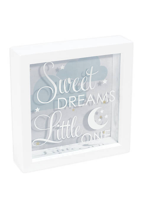 Sweet Dreams Little One Shadowbox