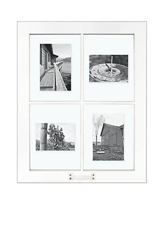 Malden Barnside Window White 4 Opening 5x7 Frame Belk