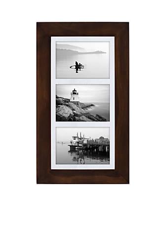 Malden Manhattan Matted Walnut Collage Frame | belk
