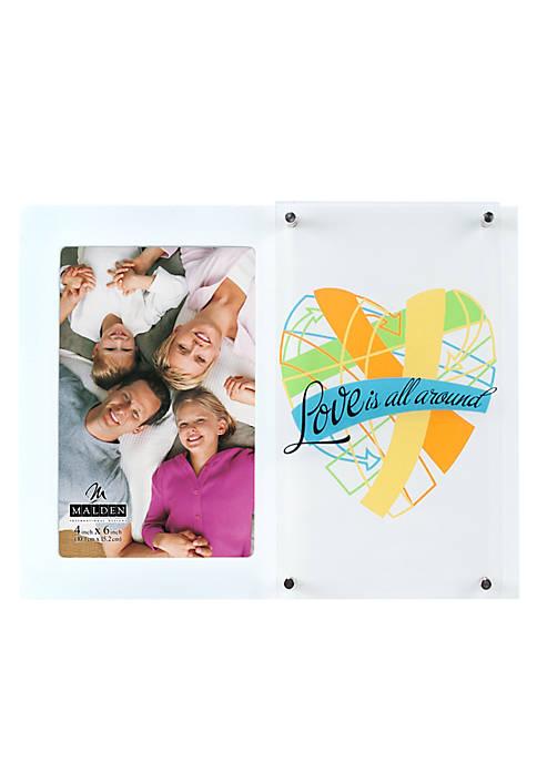 Malden Love All Around 4x6 Frame