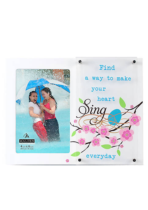 Make Your Heart Sing 4x6 Frame