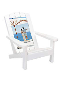 Beach Chair White 4x6 Frame