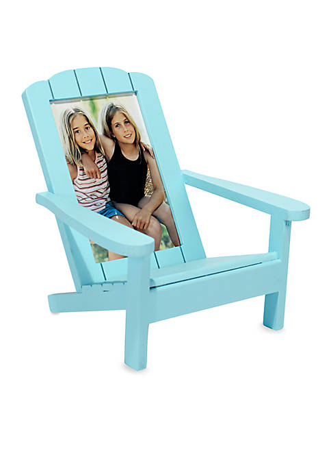 Malden Beach Chair Turquoise 4x6 Frame