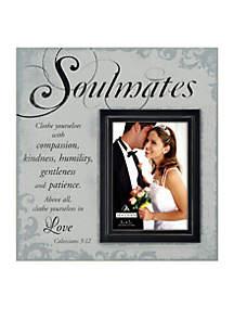 Scripts Soulmates 5x7 Frame