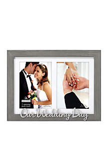 Malden Our Wedding Day Frame