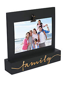 Family Desktop 4x6 Frame With Clip