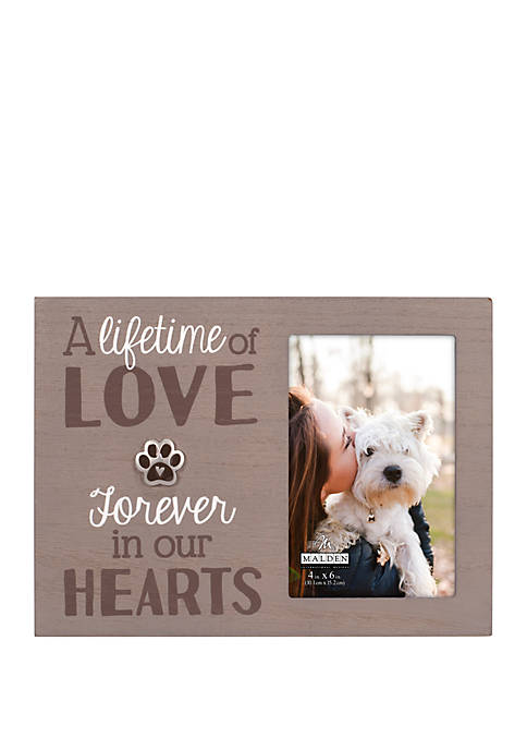 Malden Forever in Our Hearts Pet Frame