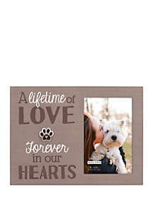 Forever in Our Hearts Pet Frame
