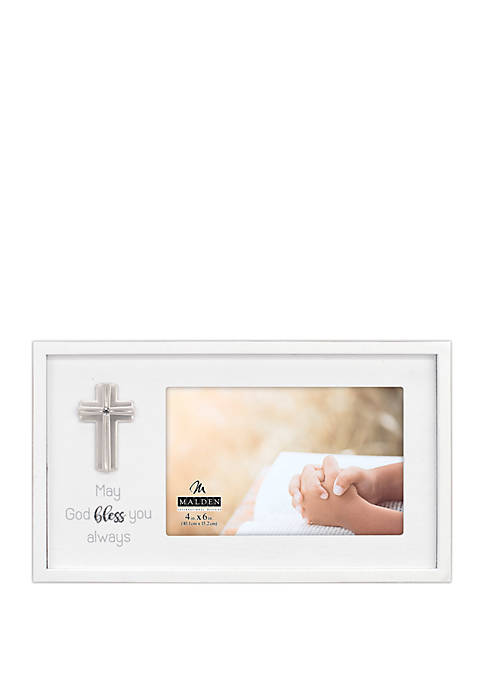 Malden May God Bless Rustic Frame