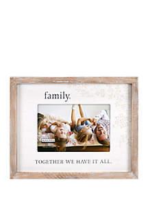 Malden Family Rustic Frame