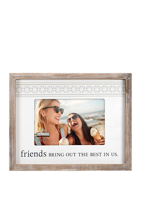 Malden Friends Rustic Frame
