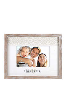 Malden This is Us Rustic Frame
