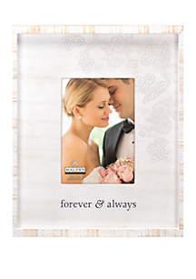Malden Forever & Always Rustic Frame