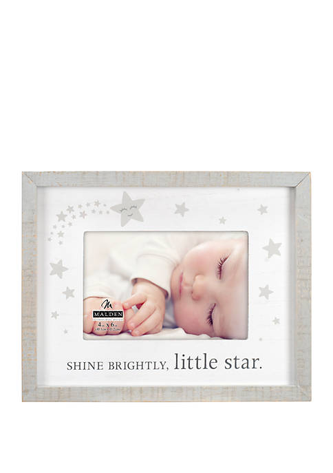 Rustic Shine Brightly Frame