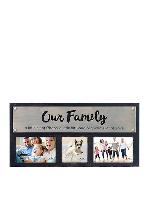Malden Family Panel Galvanized Clip Frame