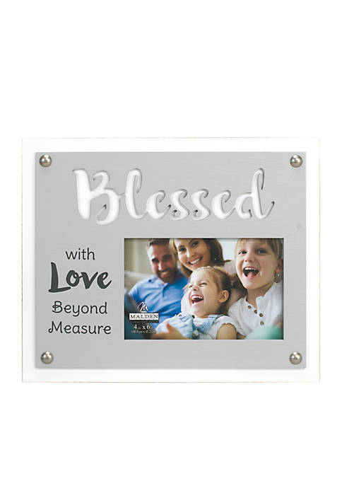 Malden Blessed Beyond Measure Laser Cut Frame
