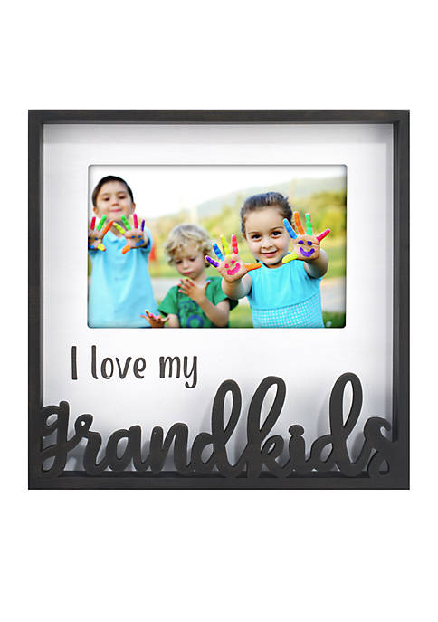 I Love My Grandkids Laser Cut Shadowbox