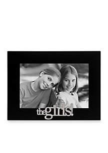 'The Girls' 4x6 Frame