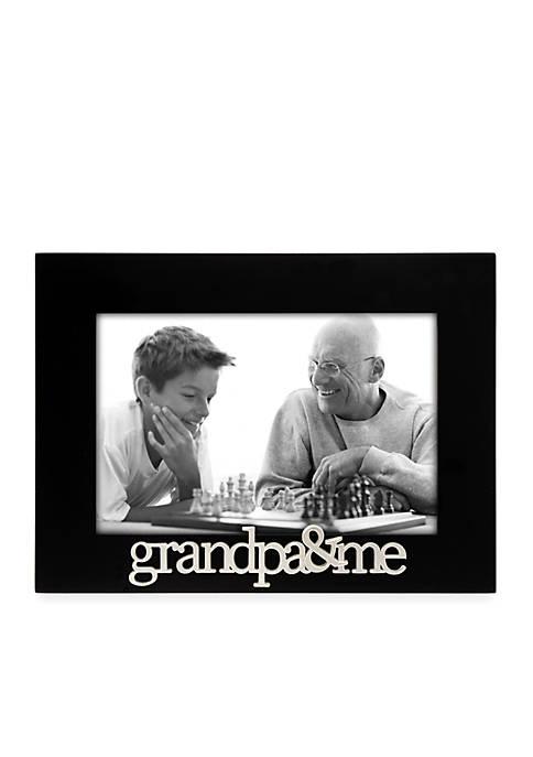 Grandpa & Me 4x6 Frame
