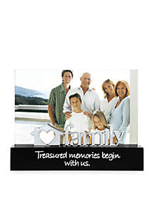 Family 4x6 Desktop Expression Frame