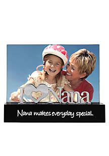 I Love Nana 4x6 Desktop Frame