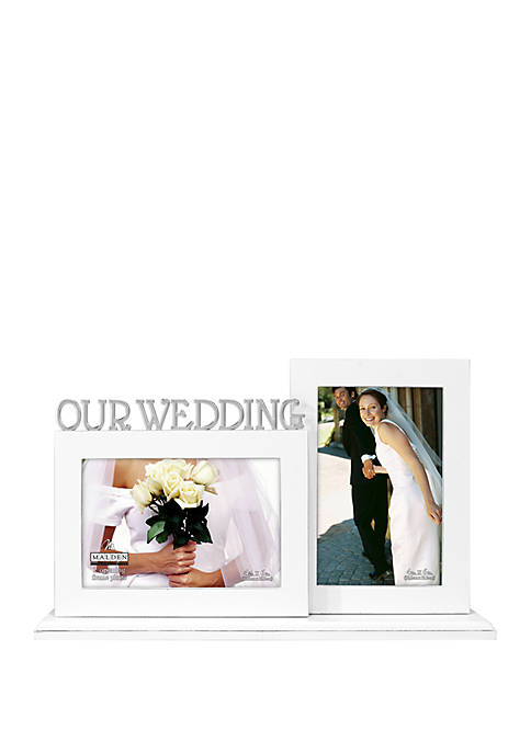 Our Wedding Double Frame