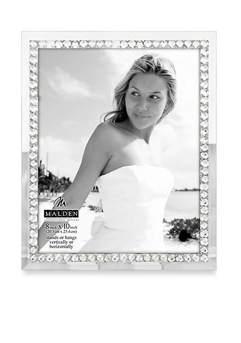 Jeweled Mirror 8x10 Frame