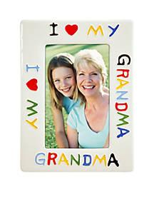 Malden I Love My Grandma 4x6 Frame Belk