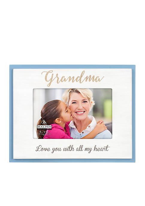 Grandma Etched Frame