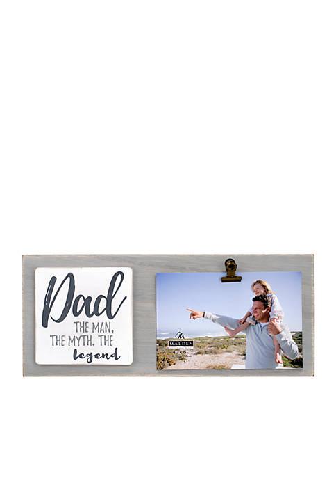 Malden Dad Clip Frame