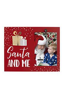 Santa & Me Clip Frame