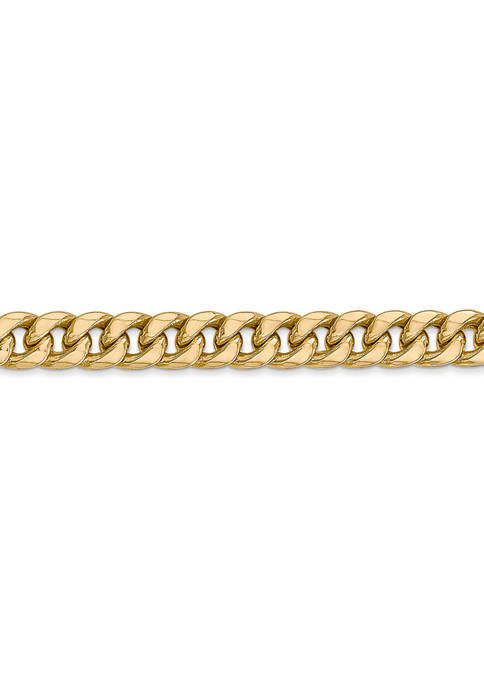 Belk & Co. Mens 14k Yellow Gold 6
