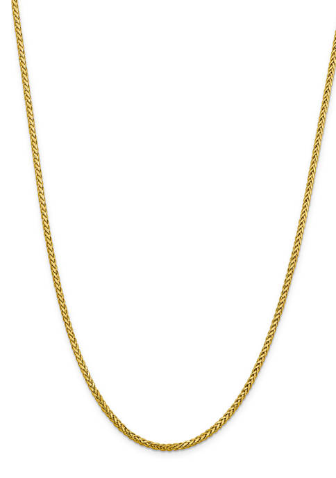 Belk & Co. Mens 14K Yellow Gold 2.5