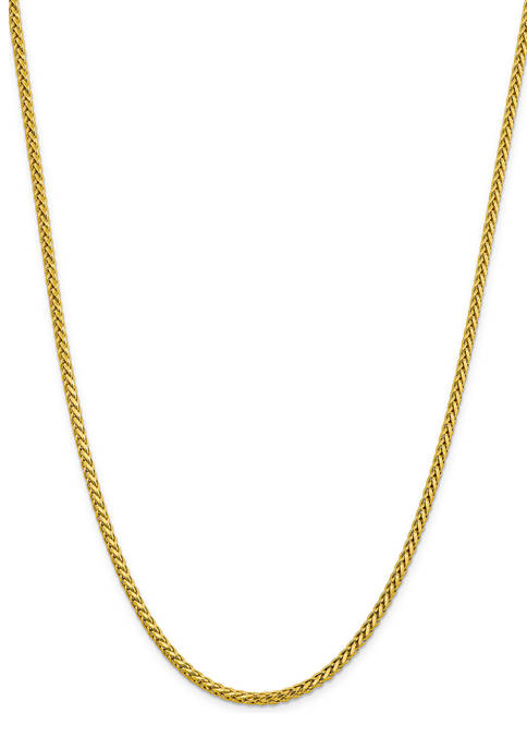 Belk & Co. Mens 14K Yellow Gold 3.1