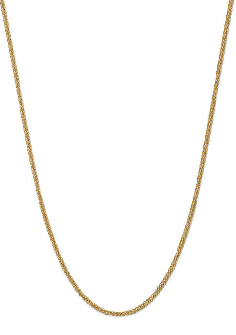 Belk & Co. Mens 14K Yellow Gold 2.60mm