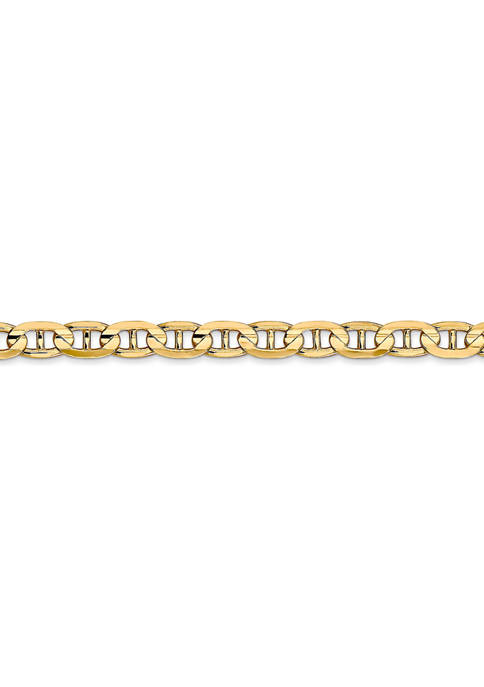 Belk & Co. Mens 14K Yellow Gold 4.5